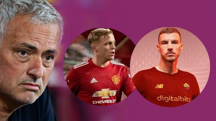 Transfer AS Roma - Jose Mourinho Tolak Donny Van De Beek, Kecewa Saat Edin Dzeko Pindah ke Inter