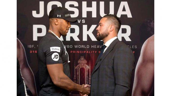 Sabtu Malam! Anthony Joshua vs Joseph Parker. Pertaruhan 4 Sabuk, Bagaimana Menontonnya?