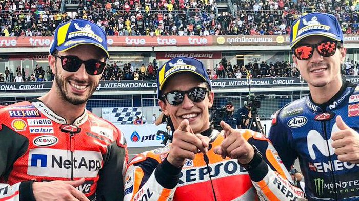Update MotoGP Jepang 2018 - Dovizioso  terjatuh di Lap 2, Marquez Kuasai MotoGP Jepang