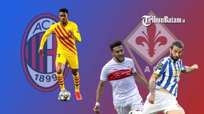 Transfer Liga Italia - AC Milan Incar Bek Barcelona Junior Firpo, Fiorentina Bidik Sergio Oliveira