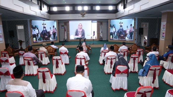 Wali kota Tanjungpinang, Rahma mengikuti diskusi online