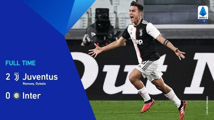 Hasil Liga Italia Juventus vs Inter Milan - Cristiano Ronaldo Catat Laga ke 1000, Juventus Menang