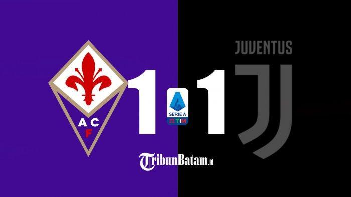 Hasil Fiorentina vs Juventus, Tak Ada Gol Ronaldo, Gol Vlahovic Dibalas Gol Morata, Juve Imbang