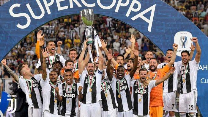 Hasil Pertandingan Piala Super Italia: Juventus 1-0 AC Milan, Gol Tandukan Ronaldo Dipuji Allegri