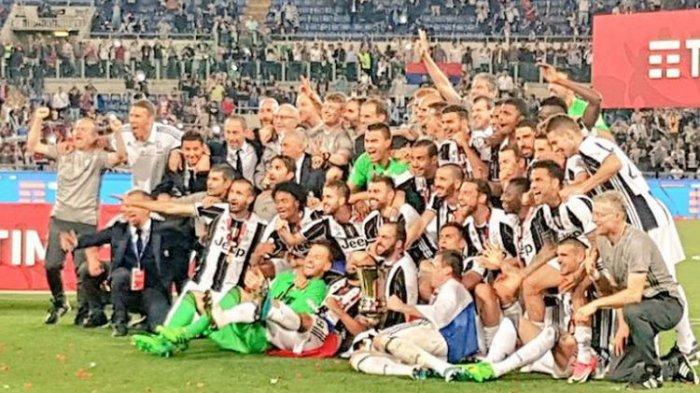 Hajar Lazio 2-0 di Final. Juventus Pesta Juara Coppa Italia untuk yang ke-12 Kalinya