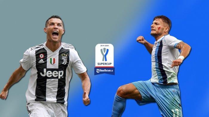 Live Streaming Supercoppa Italia Juventus vs Lazio Kick Off Jam 23.00 WIB, Saksikan di TVRI