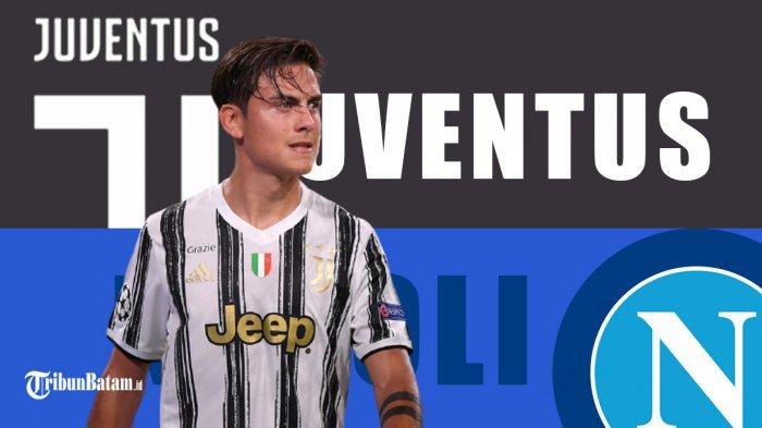 Live Streaming Juventus vs Napoli Malam Ini, Pukul 23.45 WIB, Saksikan di beINSPORTSRCTI