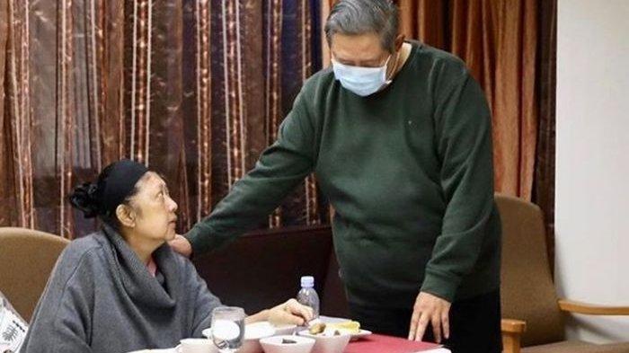Kondisi Terkini Ani Yudhoyono, Sulit Makan hingga Makin Kurus, Sebut SBY yang Membuatnya Bisa Makan