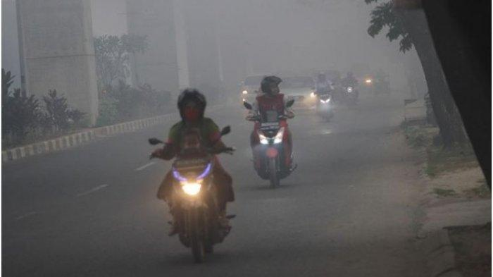 Forest and Land Fires Never End, Palembang was 'Still' Exposed to the Extreme Haze