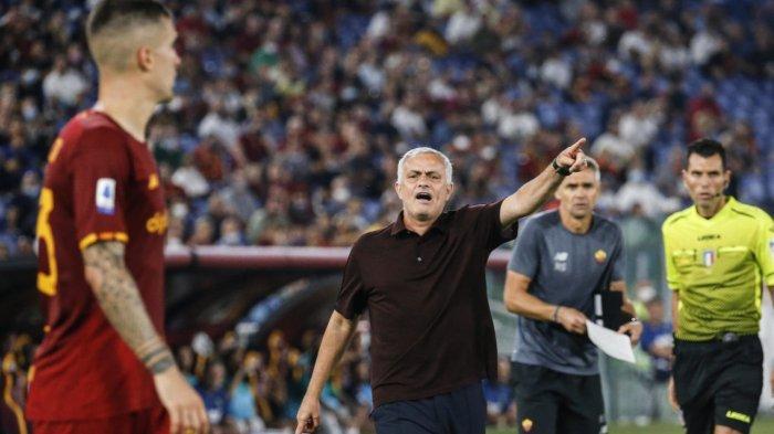 Gol El Shaarawy Buat AS Roma Unggul dan Hadiah Terindah Mourinho di Pertandingan ke 1000 Baginya