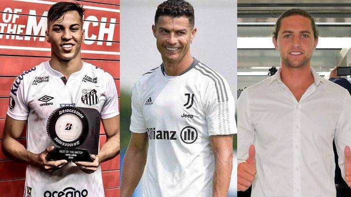 Berita Juventus - Kaio Jorge Datang Hari Ini, Cristiano Ronaldo Dapat Penghargaan, Rabiot Cedera