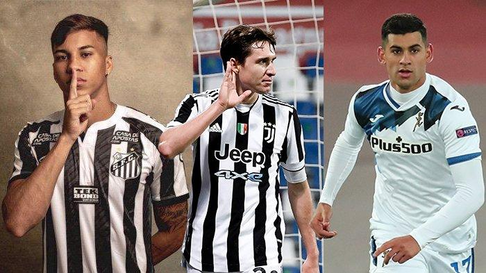 Transfer Juventus - Kaio Jorge Gabung Juventus Januari 2022, Giliran Liverpool Incar Federico Chiesa