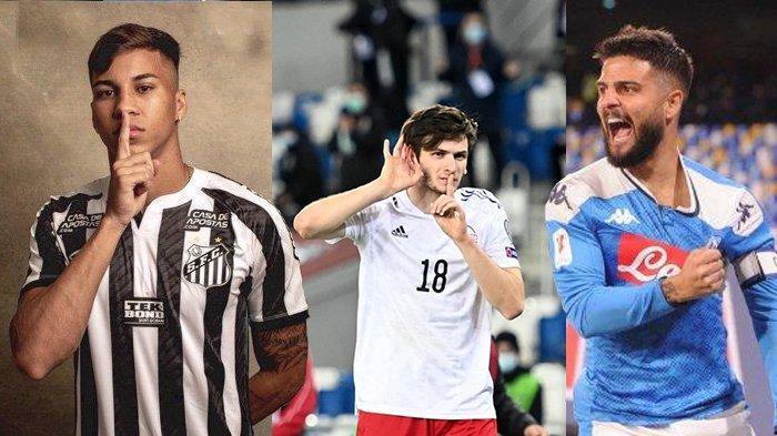 Transfer AC Milan - Kaio Jorge Hanya Mau ke Milan, Incar Lorenzo Insigne & Khvicha Kvaratskhelia