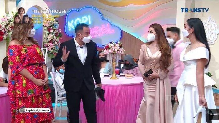 Kalina mengamuk pada Vicky Prasetyo yang kedapatan selalu mendekati Nita Thalia, Senin (25/1/2021)