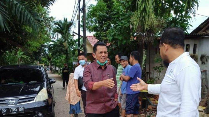 PILKADA KEPRI - Calon Gubernur Kepri Ansar Ahmad menggelar kampanye Pilkada Kepri di Perumahan Bumi Sakinah, Kelurahan Tembesi, Kecamatan Sagulung, Kota Batam, Provinsi Kepri, Minggu (29/11).