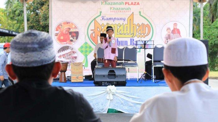 Kampung Ramadan di Bazar Khazanah Plaza, Ada Lomba Tahfidz, Adzan dan Fashion Show