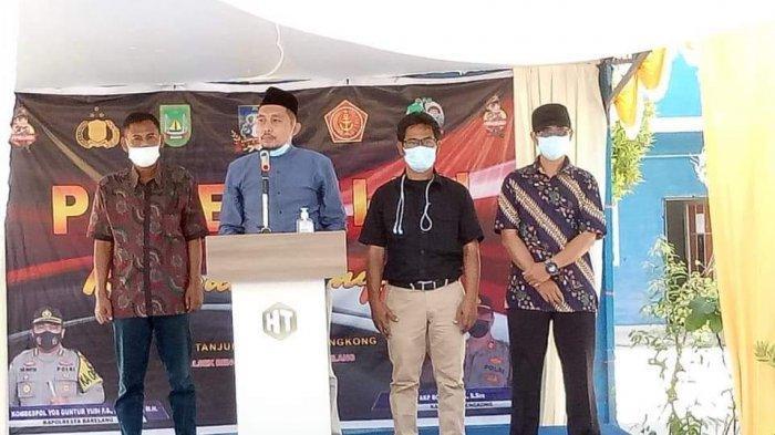 Kapolres Barelang Resmikan Kampung Tangguh di Lapangan Sekolah Islam Hang Tuah Bengkong
