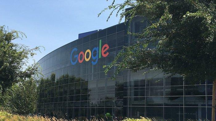 Kantor Pusat Googleplex, Mountain View, di Amerika Serikat (AS)