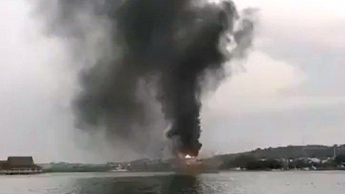 Kapal Anggota DPRD Bintan M Yatir Terbakar di Rimba Jaya, Dalam Penyelidikan Polisi