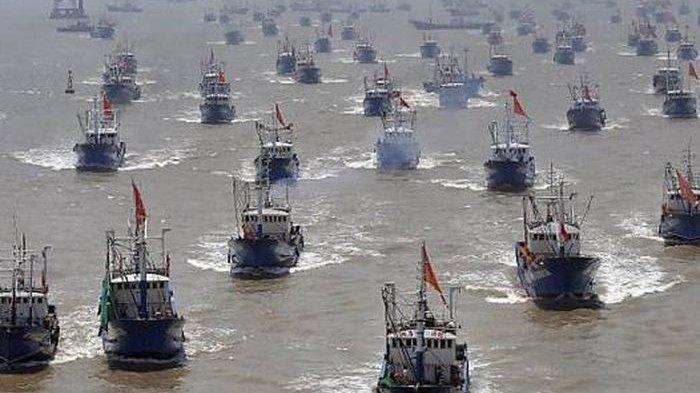 Kapal-kapal berbendera China