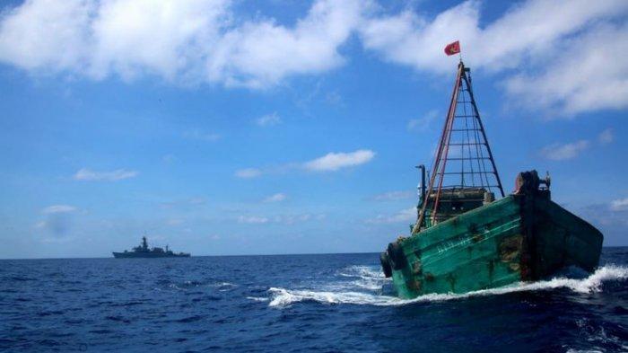 Curi Ikan di Peraiaran Natuna, KKP Tangkap Kapal Ikan Asing Asal Vietnam