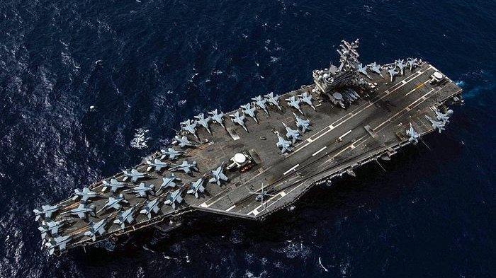 Armada Tempur AS dan Beijing Sama-sama di Laut China Selatan, Kerahkan Kapal Induk, Kuat Siapa?