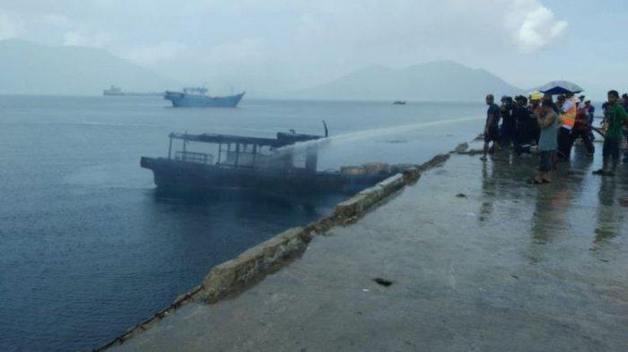 Kapal Pengangkut BBM Terbakar di Natuna Selasa Siang, Satu Orang Dilaporkan Meninggal