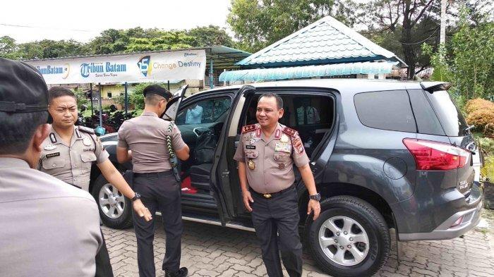 Kapolda Kepri Irjen Pol Andap Budhi Revianto Bertandang ke Kantor Redaksi Tribun Batam