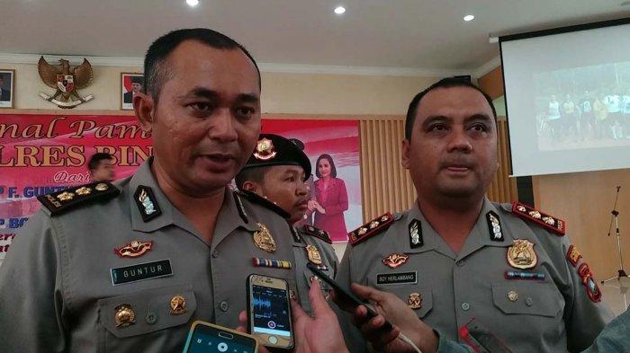 AKBP Boy Herlambang Disambut Goyang Maumere di Bintan.'Putar ke Kiri ke Kanan, Komandan!'
