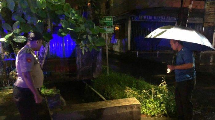 Hujan Landa Tanjungpinang, Kapolres AKBP Ucok Lasdin Silalahi  Pantau Lokasi Rawan Banjir