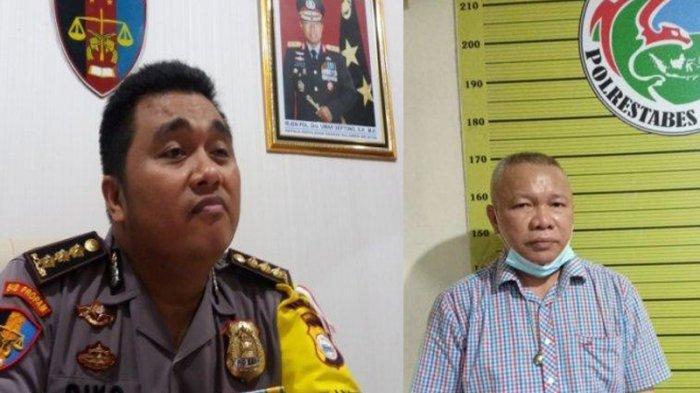 Kapolrestabes Medan Kombes Riko Sunarko dan Sekda Nias Utara Yafeti Nazara