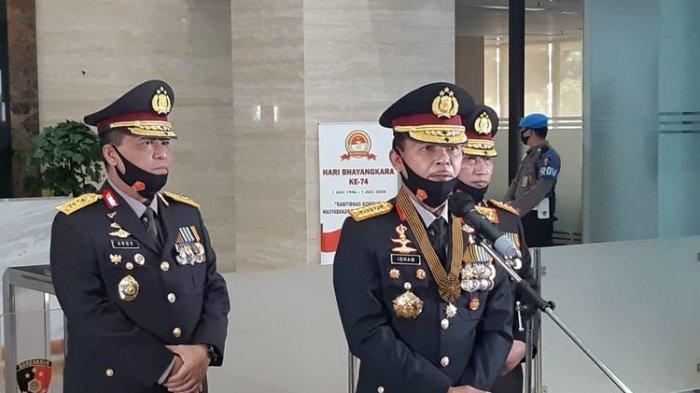 Jenderal Idham Azis Dampingi Komjen Listyo Sigit Jalani Fit and Proper Test Kapolri