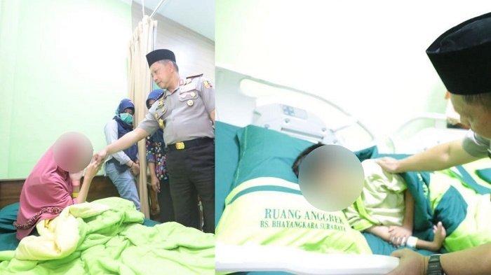 Pengakuan Anak yang Selamat dari Teror Bom Orangtuanya di Sidoarjo. Ini Katanya Kepada Kapolri