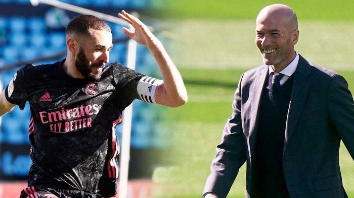 Real Madrid Menang Benzema Cetak 2 Gol, Zidane: Pemain Sebagus Itu Kok Tak Dipanggil Timnas?