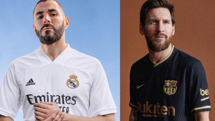 UPDATE Jersey Klub Liga Spanyol 2020/2021, Real Madrid ...