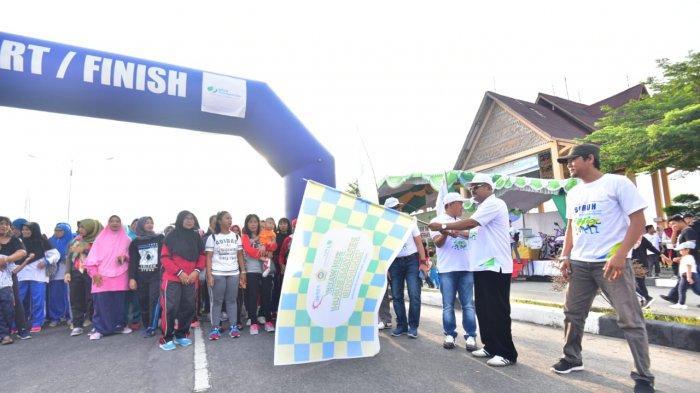 Aunur Rafiq Jalan Santai Bersama BPJS Ketenagakerjaan, Minta Seluruh Pekerja Jadi Anggota BPJS