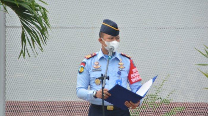 RUTAN BATAM - Kepala Rutan Kelas IIA Barelang Batam Yan Patmos Purba.