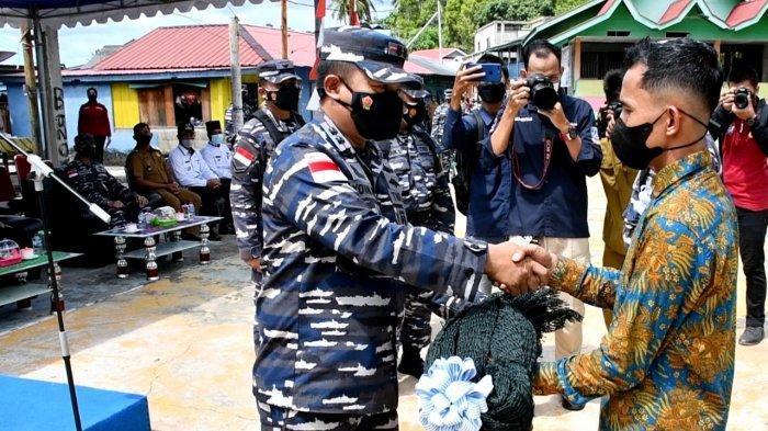 Karya Bakti TNI AL di Anambas, Warga Batu Belah Berharap Infrastruktur Meningkat
