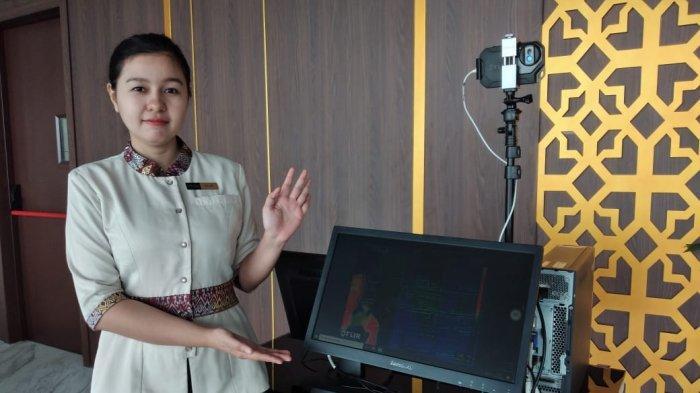 Antisipasi Penyebaran Covid-19, Asialink Hotel Batam Pasang Thermal Scanner