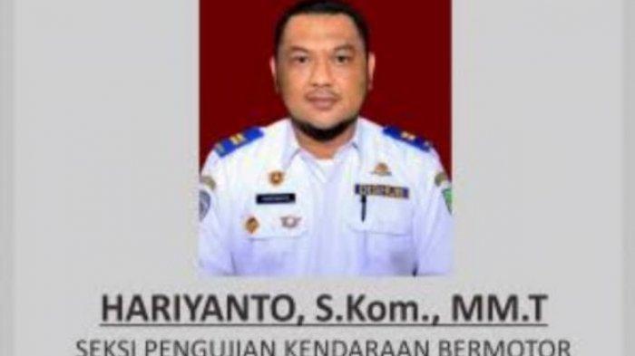 Kasi Pengujian Kendaraan Bermotor Dishub Batam, Hariyanto