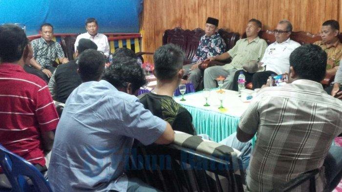 Bupati Anambas Beberkan Konflik Kebun Karet PT KJJ di Depan Wakapolda Kepri