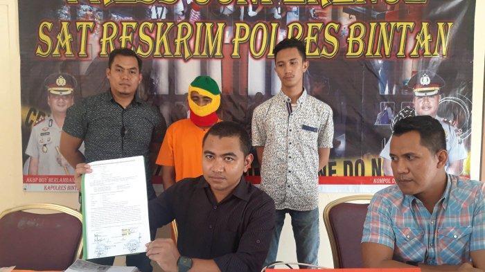 Sebelum Ditangkap, Edi Subagio Berani Datang Sendiri ke Polres Bintan. Agus : Penjelasannya Ngawur