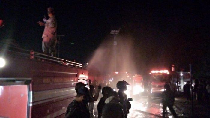 BREAKING NEWS, Kebakaran di Tanjungpinang, Api Bakar Ruko di Jalan Ganet