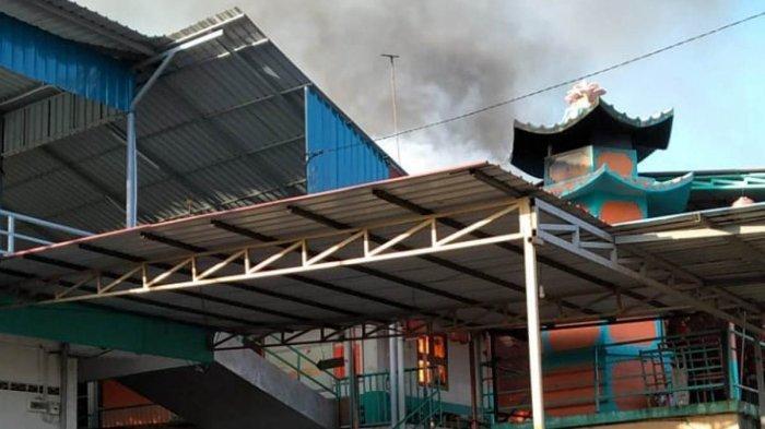 Objek Wisata Batam Pagoda Quan Am Tu Terbakar, Dalam Penyelidikan Polsek Galang