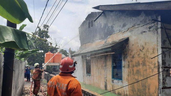 Rumah Kontrakan di Tanjung Pinang Sengaja Dibakar, Pelaku Serahkan Diri ke Polisi