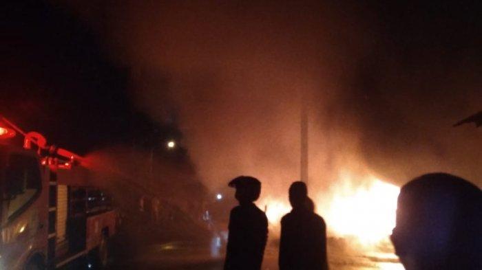 DERETAN Fakta Kebakaran di Punggur Batam, Diduga Akibat Korsleting hingga Tewaskan Balita