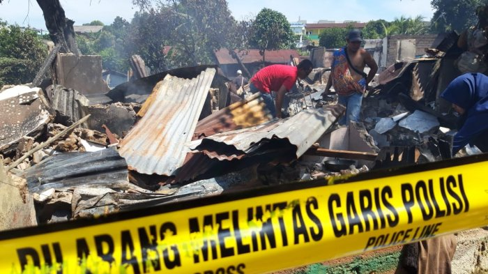 20 Rumah Ludes Dilalap Api, Tetangga Korban: Saya Mendengar Suara Ledakan Berkali-kali