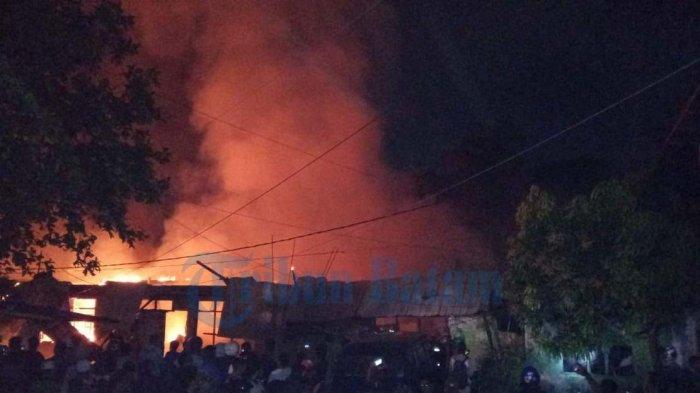 Kebakaran Bengkong Aljabar - Sebelum Dilalap Api, Malam Hari, Siangnya Juga Terjadi Kebakaran