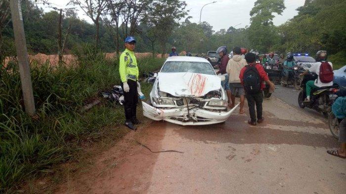KECELAKAAN DI BATAM - Sopir Corolla Korban Kecelakaan di Sei Temiang Jalani Tes Urine