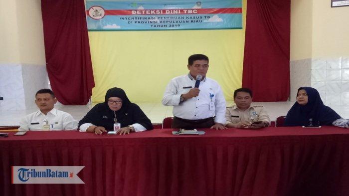 Deteksi Dini Tuberkulosis, Dinas Kesehatan Kepri Gelar Sosialisasi di SMKN 1 Tanjungpinang
